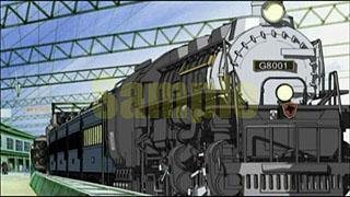 銀河鉄道物語の戦闘列車